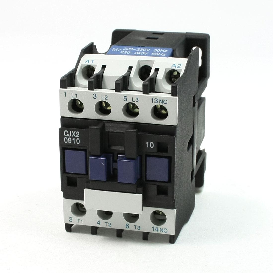 CJX2-09 Coil Volt 3 Phase 1NO Motor Controller AC Contactor 660V 25A