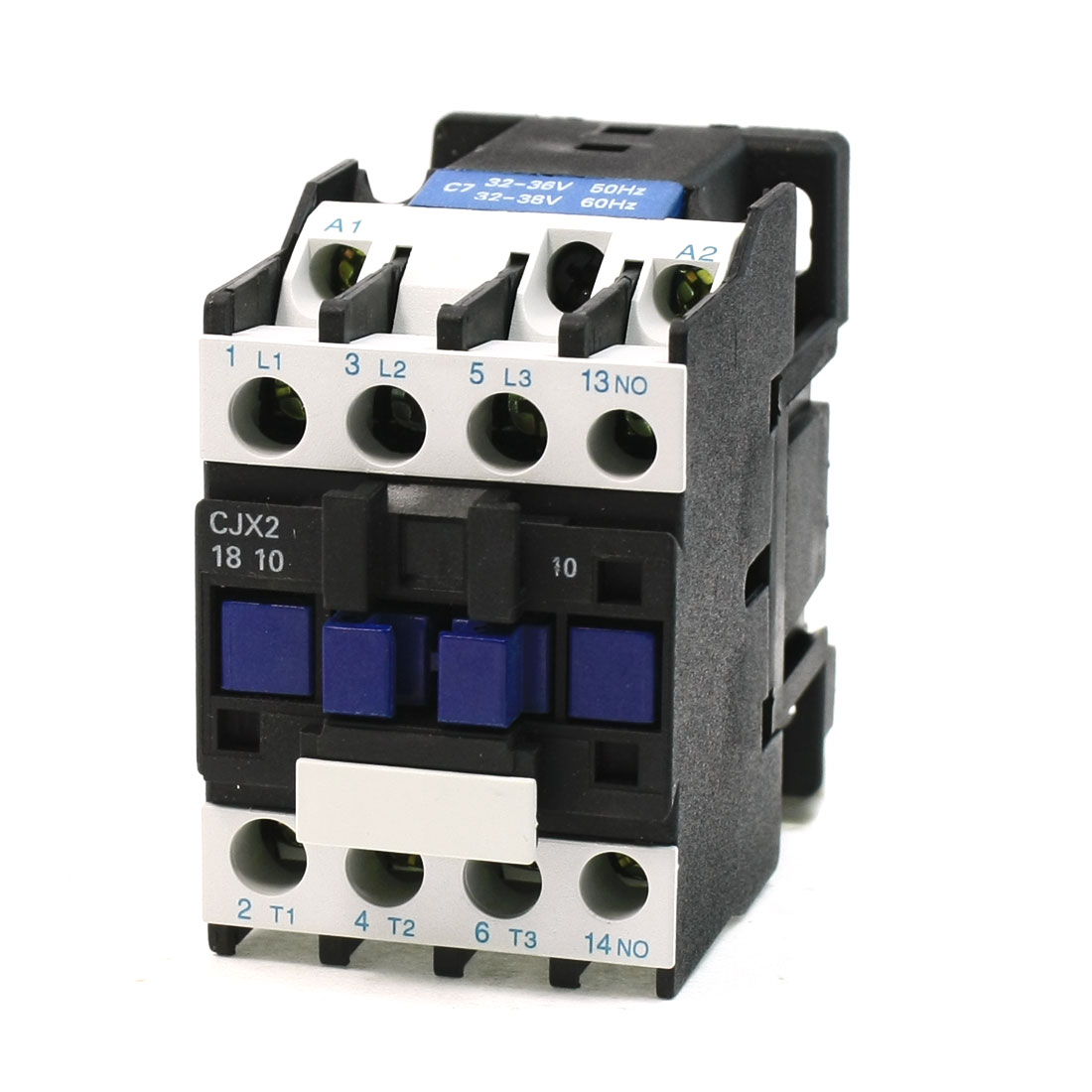 CJX2-18 Coil Voltage 3 Phase 1NO 50/60Hz AC Contactor Ui 660V Lth 32A