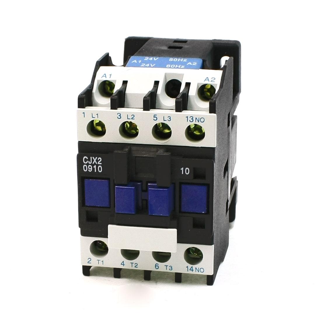 CJX2-09 Coil Voltage 3 Phase 1NO Motor Controller AC Contactor 660V 25A