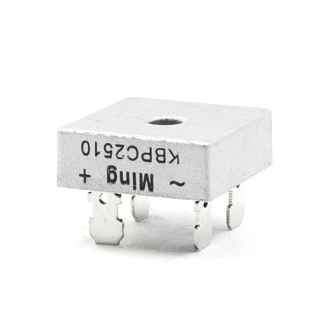 Ming KBPC2510 Power Component 1000V 25A Bridge Rectifier