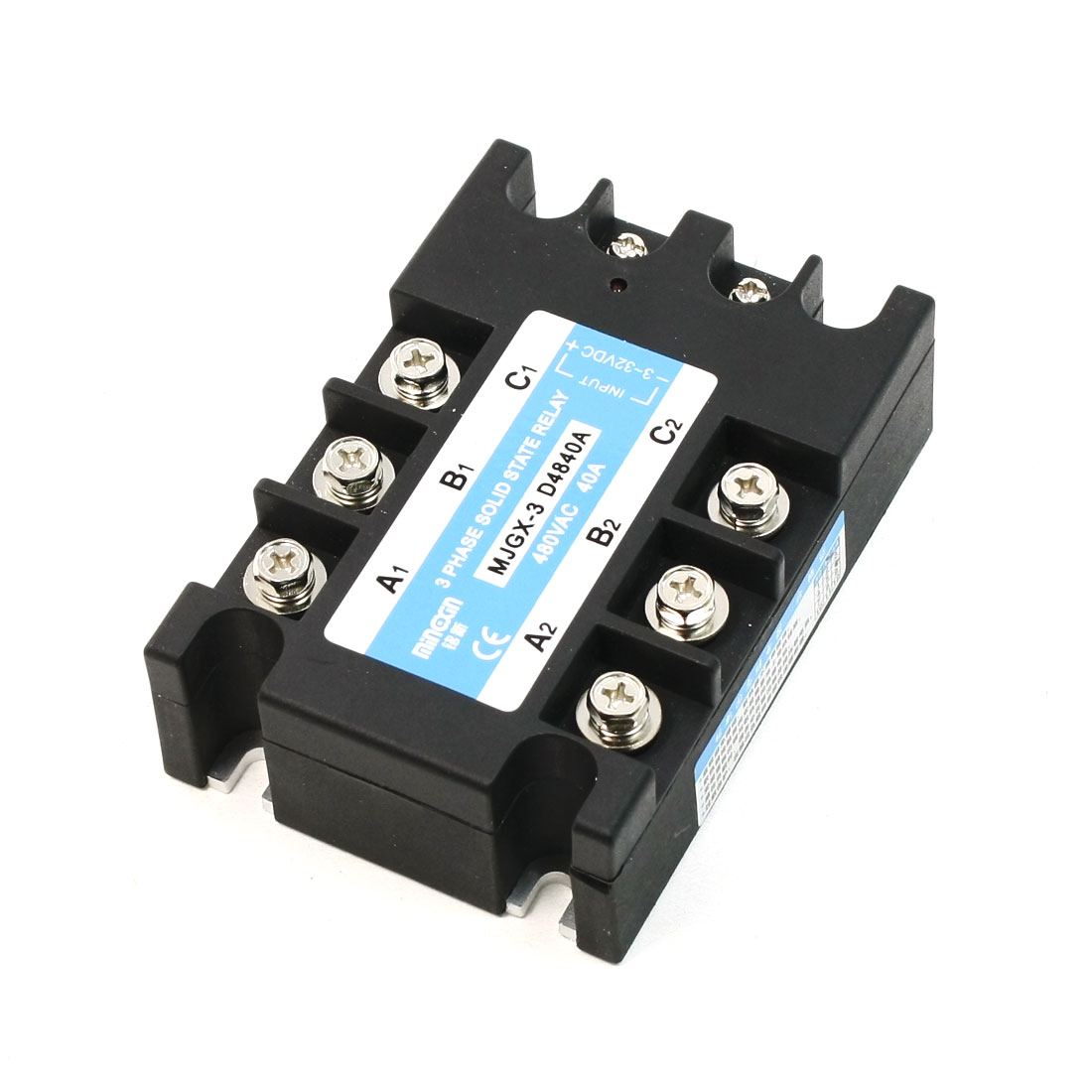 DC to AC Three Phase Solid State Relay MJGX-3 3-32VDC 480VAC 40A