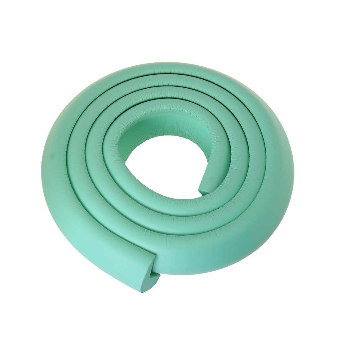 2M Long Toddle Baby Safety Flexible Corner Guard Cushions Pale Green w Adhesive