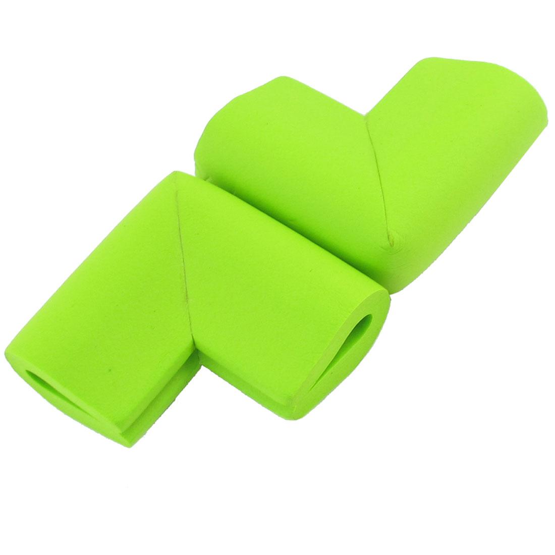 Table Worktop Corner Pad Mat Cover Safty Protector Guard Cushion Green 2 Pcs
