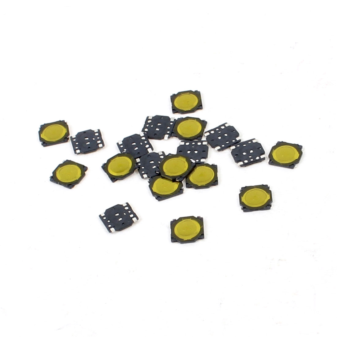 20 Pcs 3.7x3.7x0.35mm 4Pin Momentary Push Button PCB SMD SMT Tactile Tact Switch