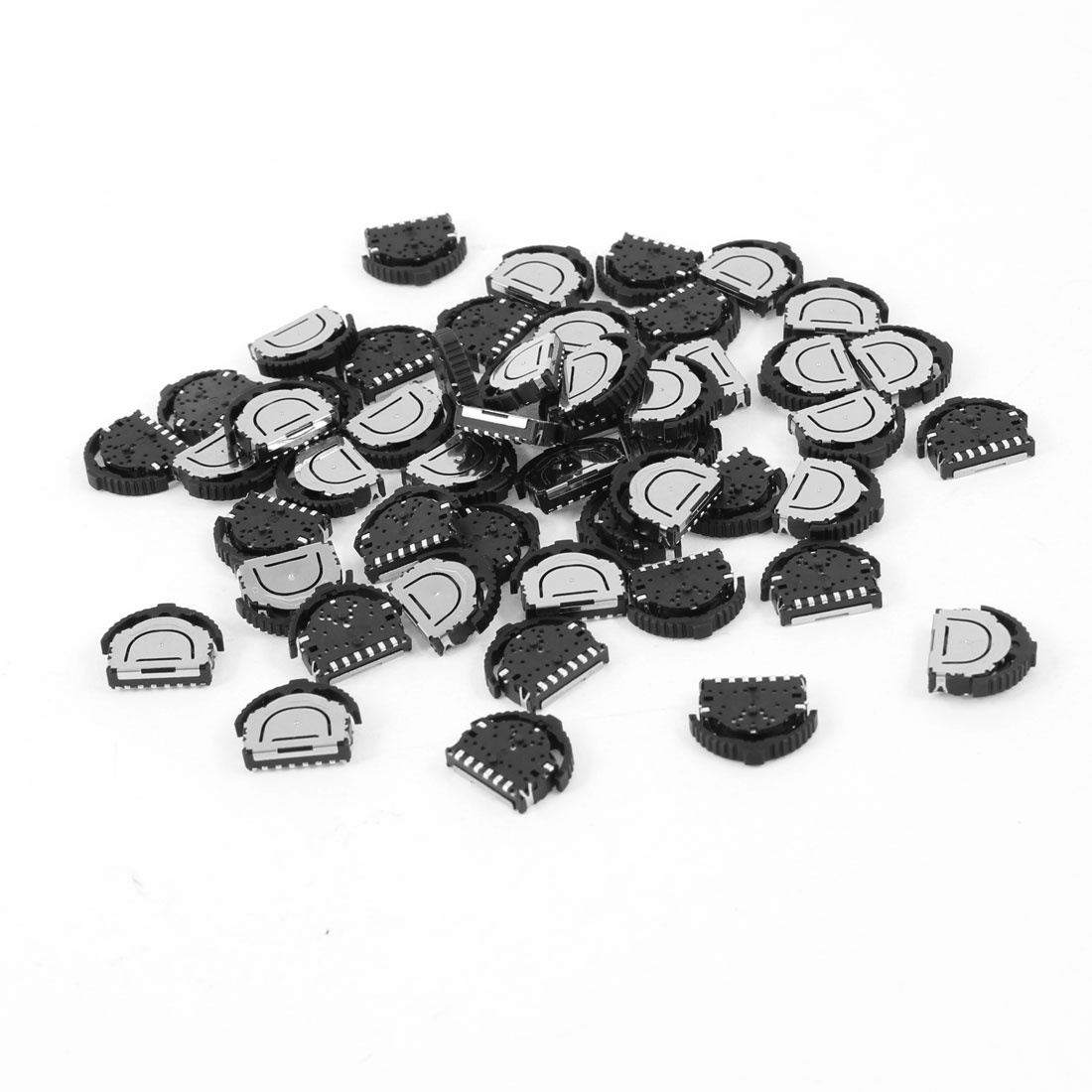 50 Pcs On/Off 3-Position 6 Pin 3PST Horizontal Mini SMD SMT Silde Switch
