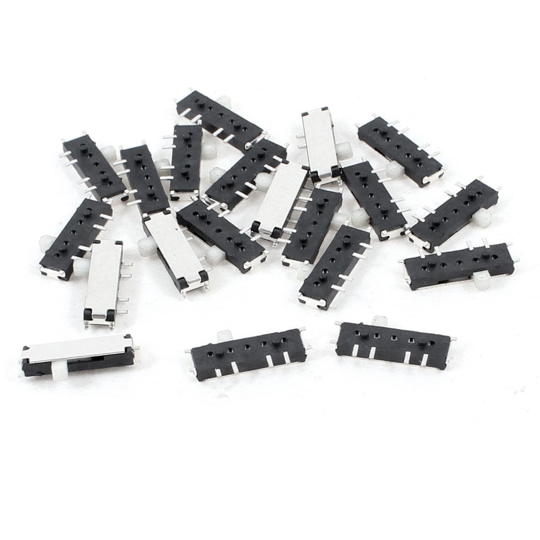 20 Pcs 3 Position 8 Pin DPDT Horizontal Mini SMD SMT Slide Switch 10mm x 3mm