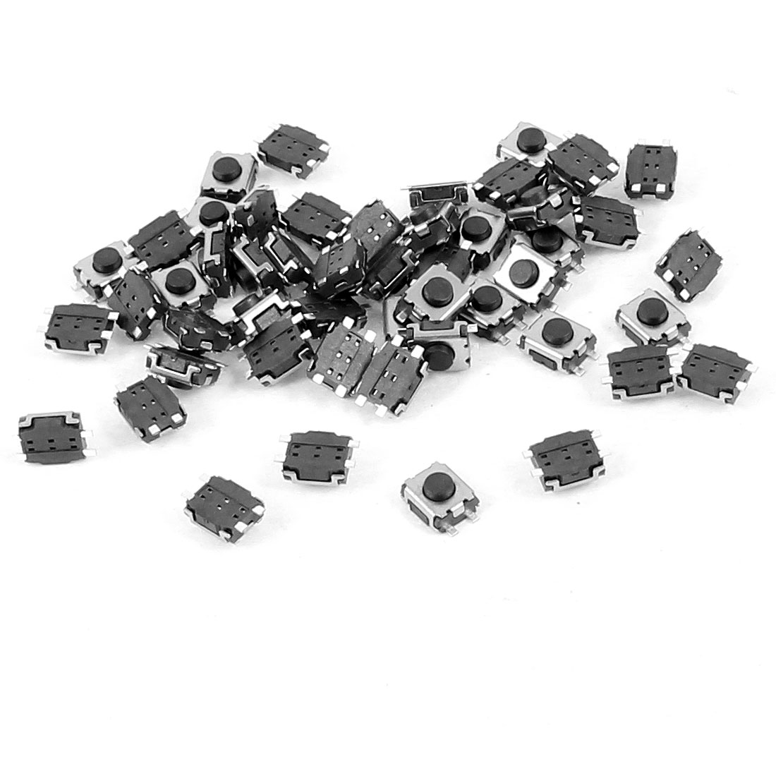 50 Pcs 4mm x 3mm 4 Pins SMD SMT Ultrathin Momentary Push Button Tact Switch