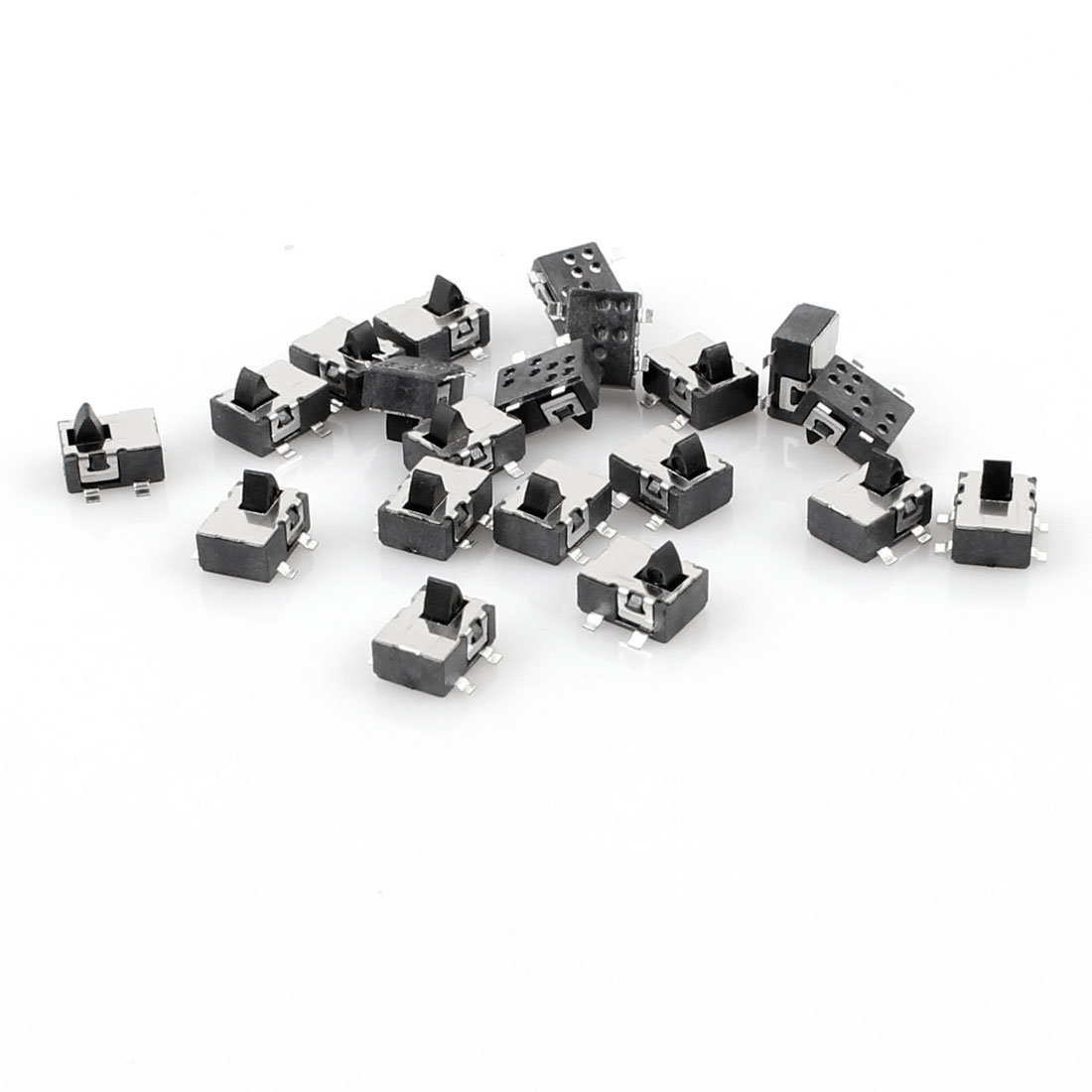 20 Pcs 4.8x3.8mm 4 Pin SPST Momentary PCB Mini SMD SMT Tactile Switch