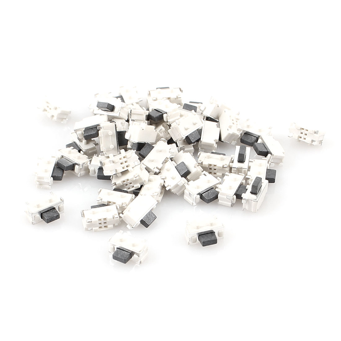 50 Pcs 4mm x 2mm SPST Momentary Push Button SMD SMT Tactile Tact Switch