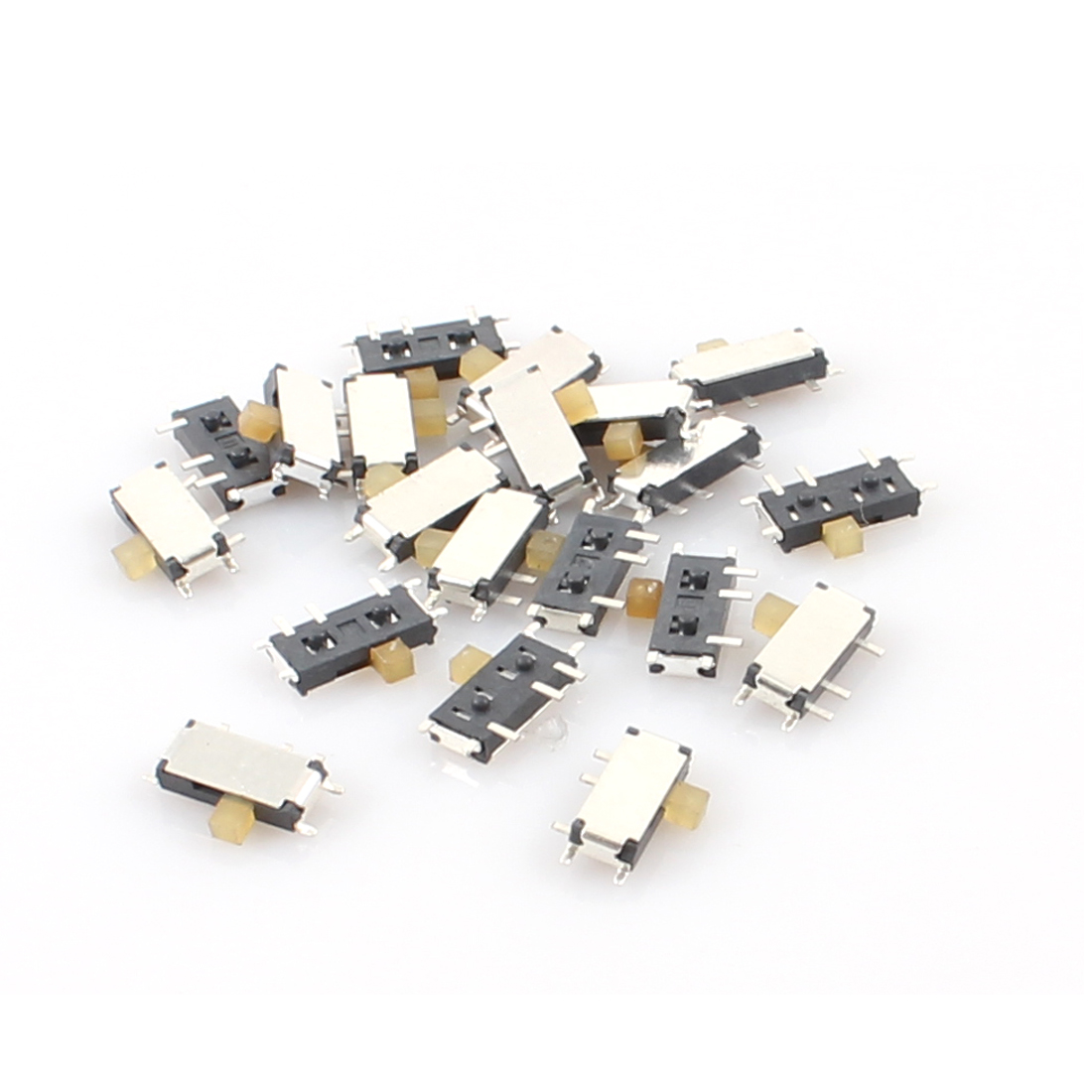 20 Pcs 2 Position 7 Pins 1P2T SPDT Horizontal Mini SMD SMT Slide Switch