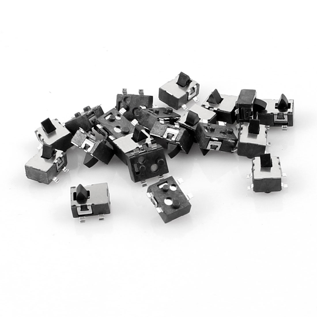 20 Pcs 4.8x3.8mm 4 Pin SPST Momentary Push Button Mini SMD SMT Tactile Switch