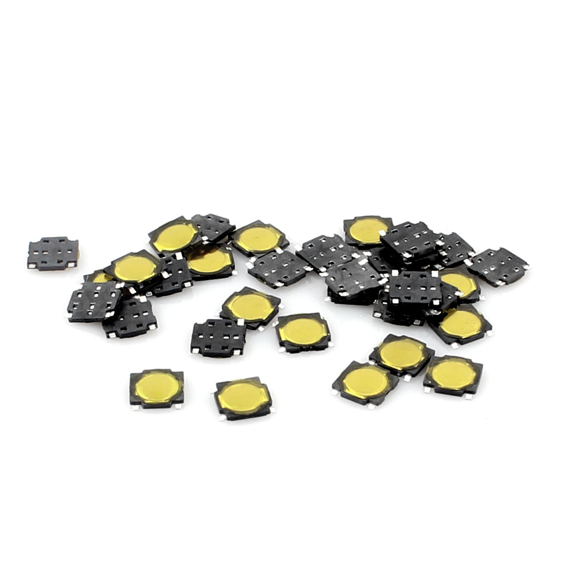 20 Pcs 4.5x4.5x0.5mm 4-Pin Momentary Push Button PCB SMD SMT Tactile Tact Switch