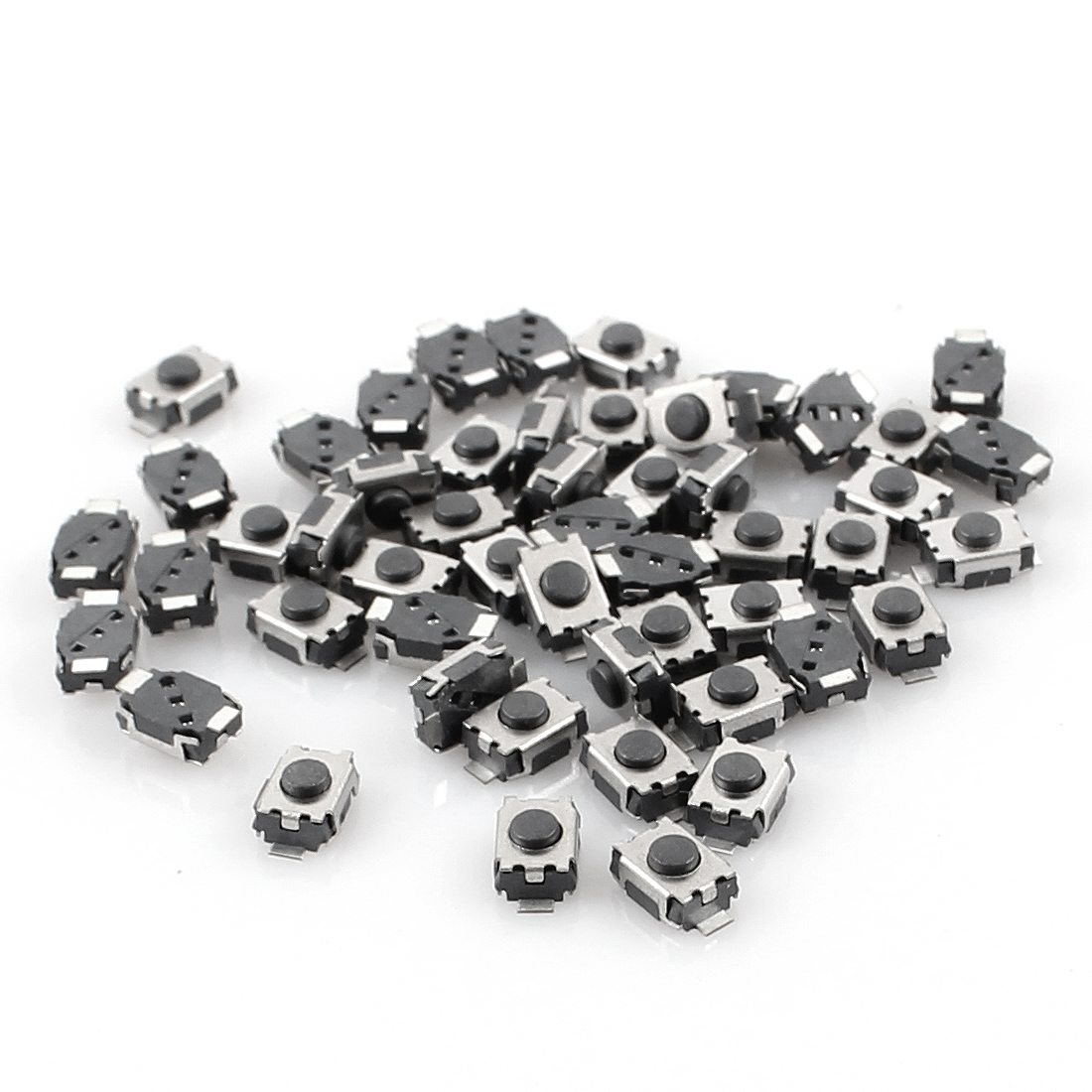 50 Pcs 4mm x 3mm Momentary SMD SMT Tactile Tact Push Button Switch