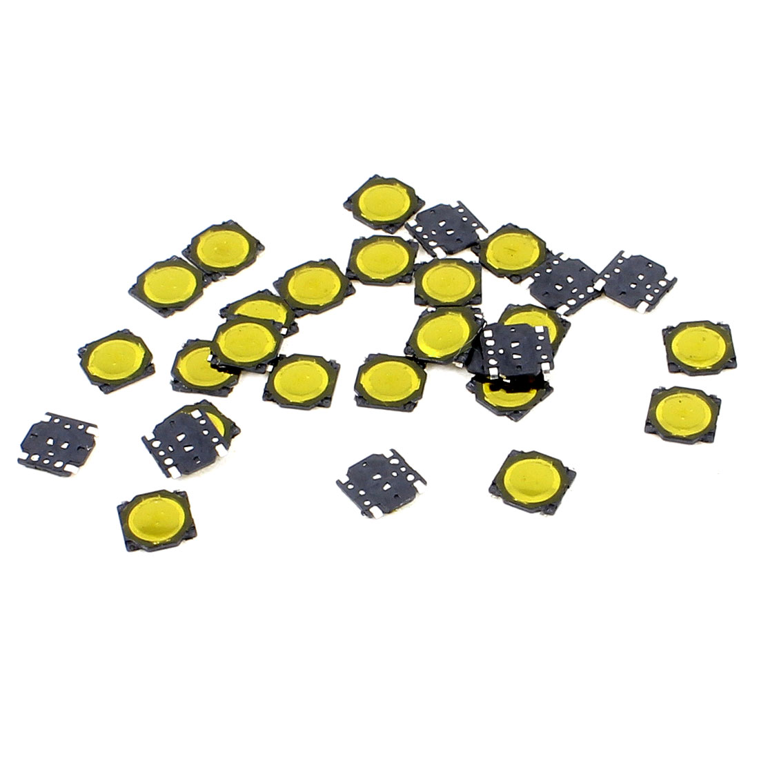30 Pcs 3.7x3.7x0.35mm 4 Pins Momentary Push Button SMD SMT Tactile Tact Switch