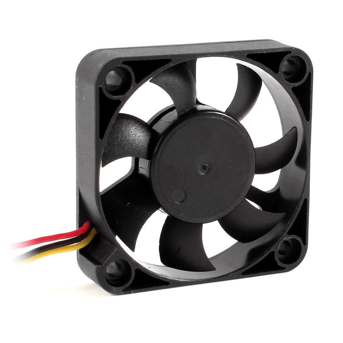 50mm x 10mm Sleeve Bearing Computer CPU Cooler Cooling Fan
