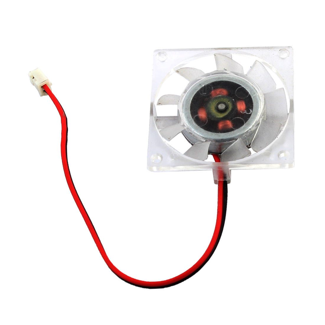 40mmx10mm DC 12V Cooling Fan Cooler Clear for PC Computer