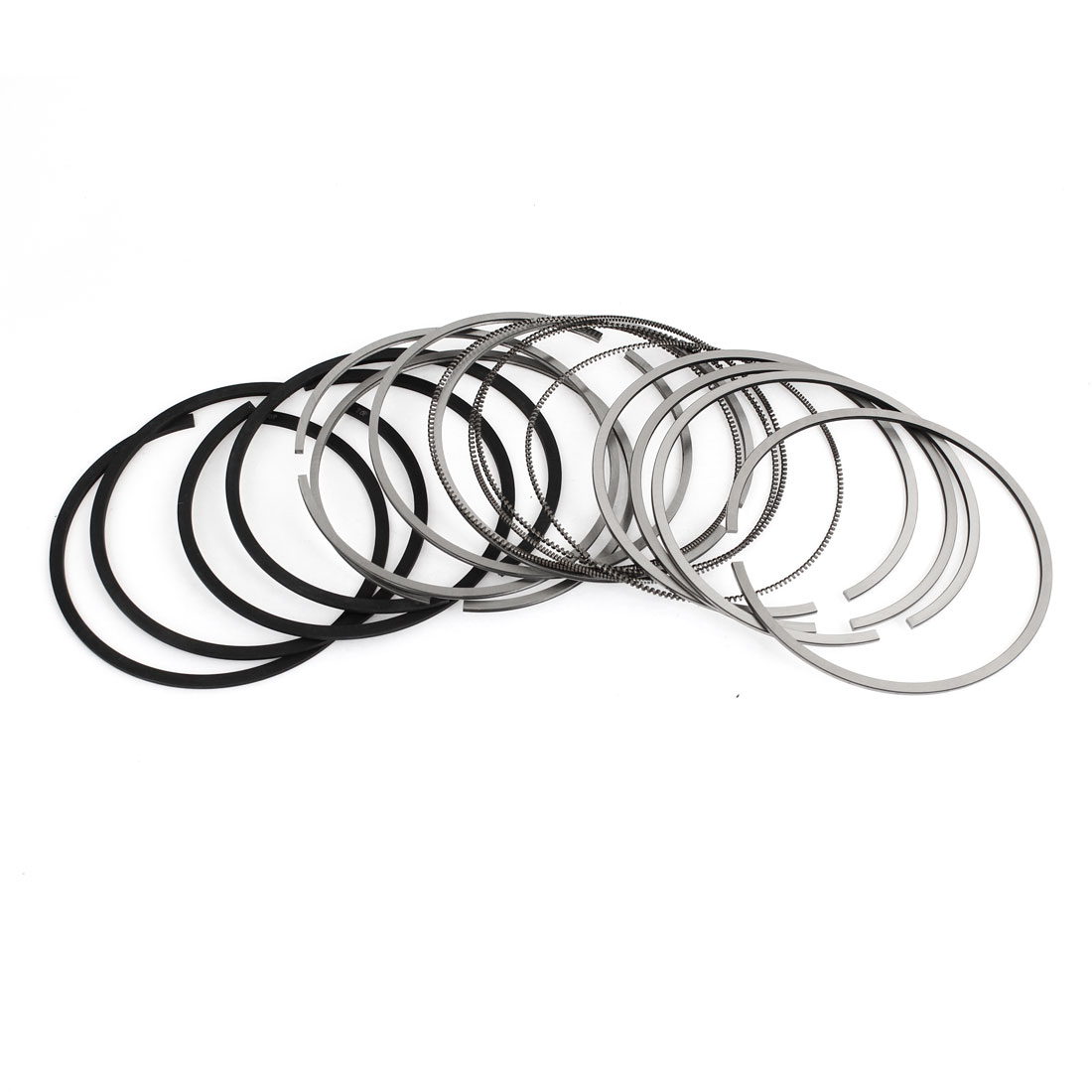 16 in 1 Metal Piston Rings Replacement Set for Vehicle Car 06B198151B