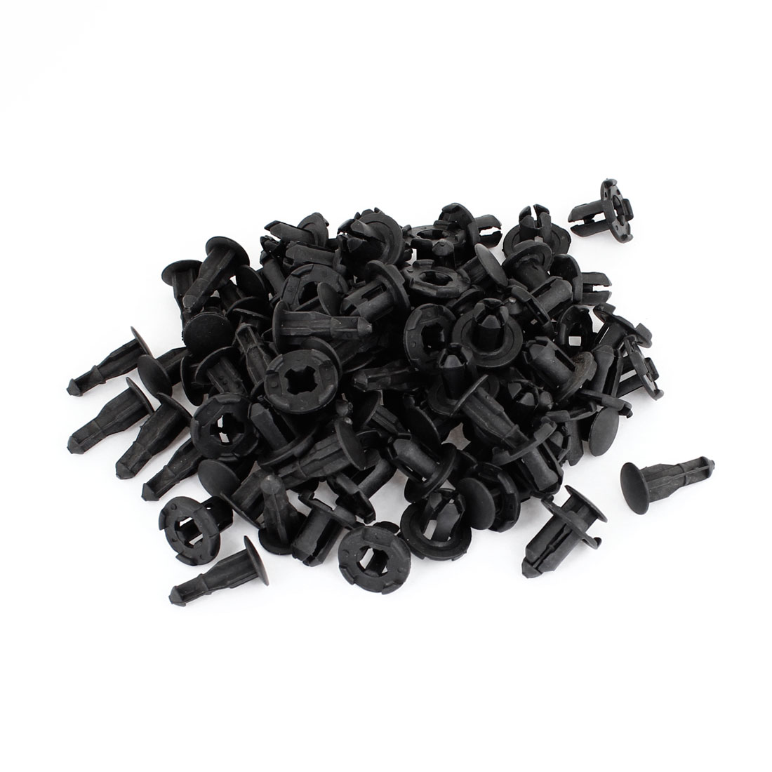Auto 9mm Hole Dia Plastic Rivets Fastener Fender Bumper Push Pin Clips 250 Pcs