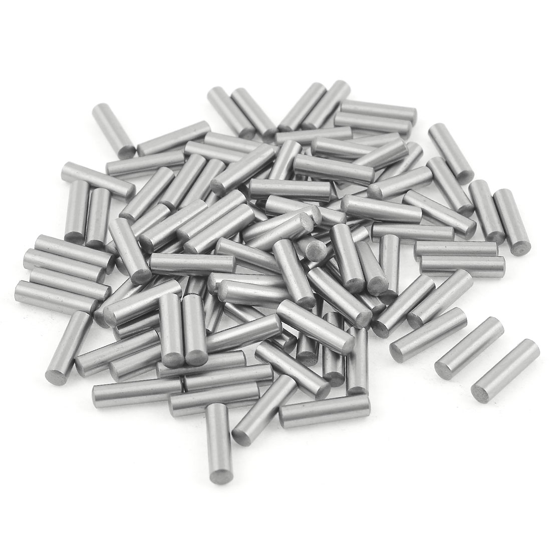 100 Pcs Stainless Steel 3.2mm x 15.8mm Dowel Pins Fasten Elements