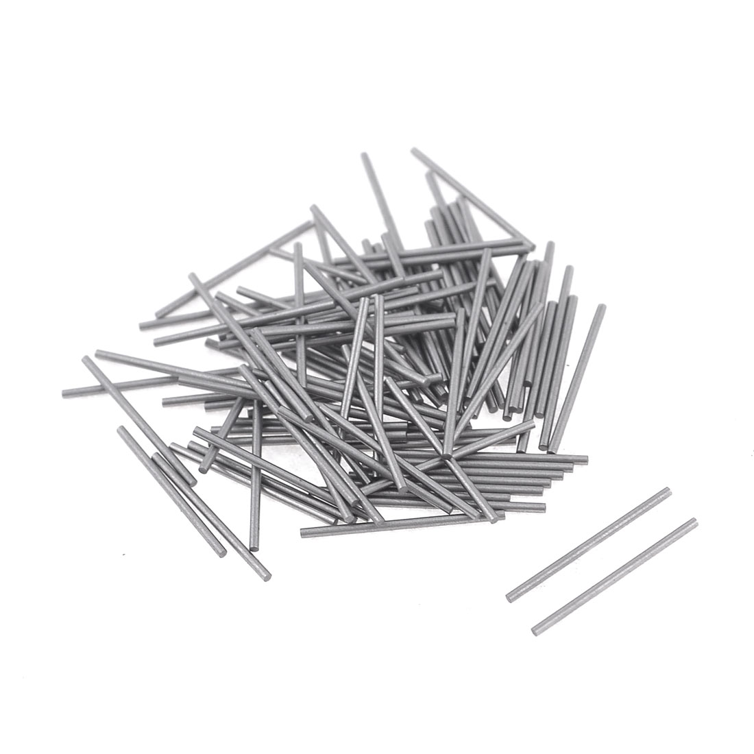 100 Pcs 0.8mm x 15.8mm Parallel Dowel Pins Fasten Elements
