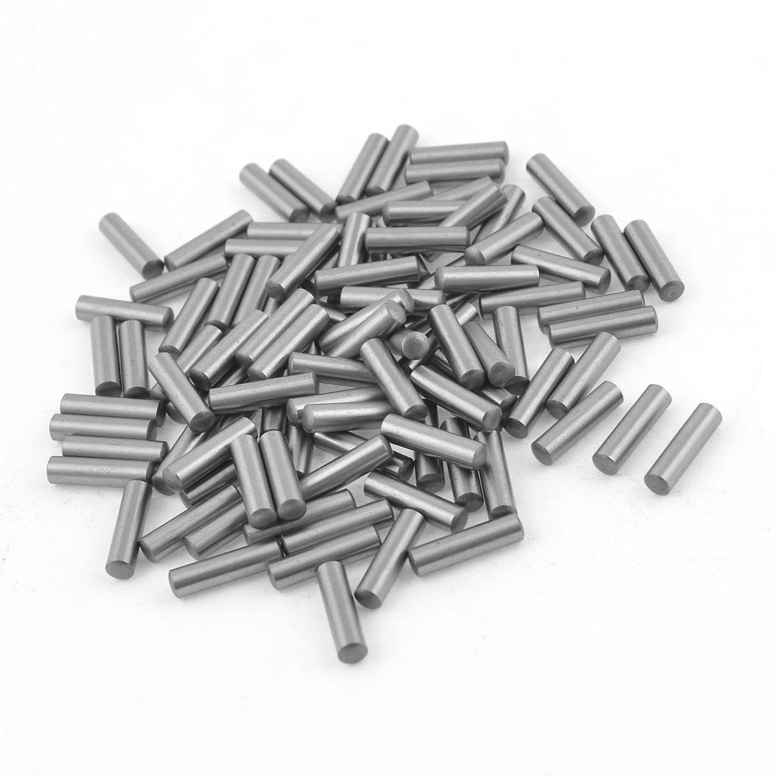 100 Pcs 3.3mm Diameter 15.8mm Length Cylinder Parallel Dowel Pins
