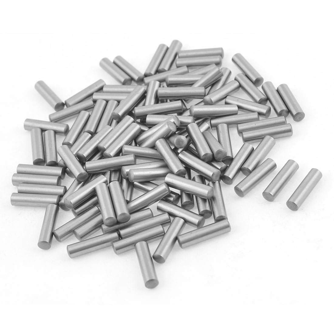 100 Pcs Stainless Steel 3.55mm x 15.8mm Dowel Pins Fasten Elements