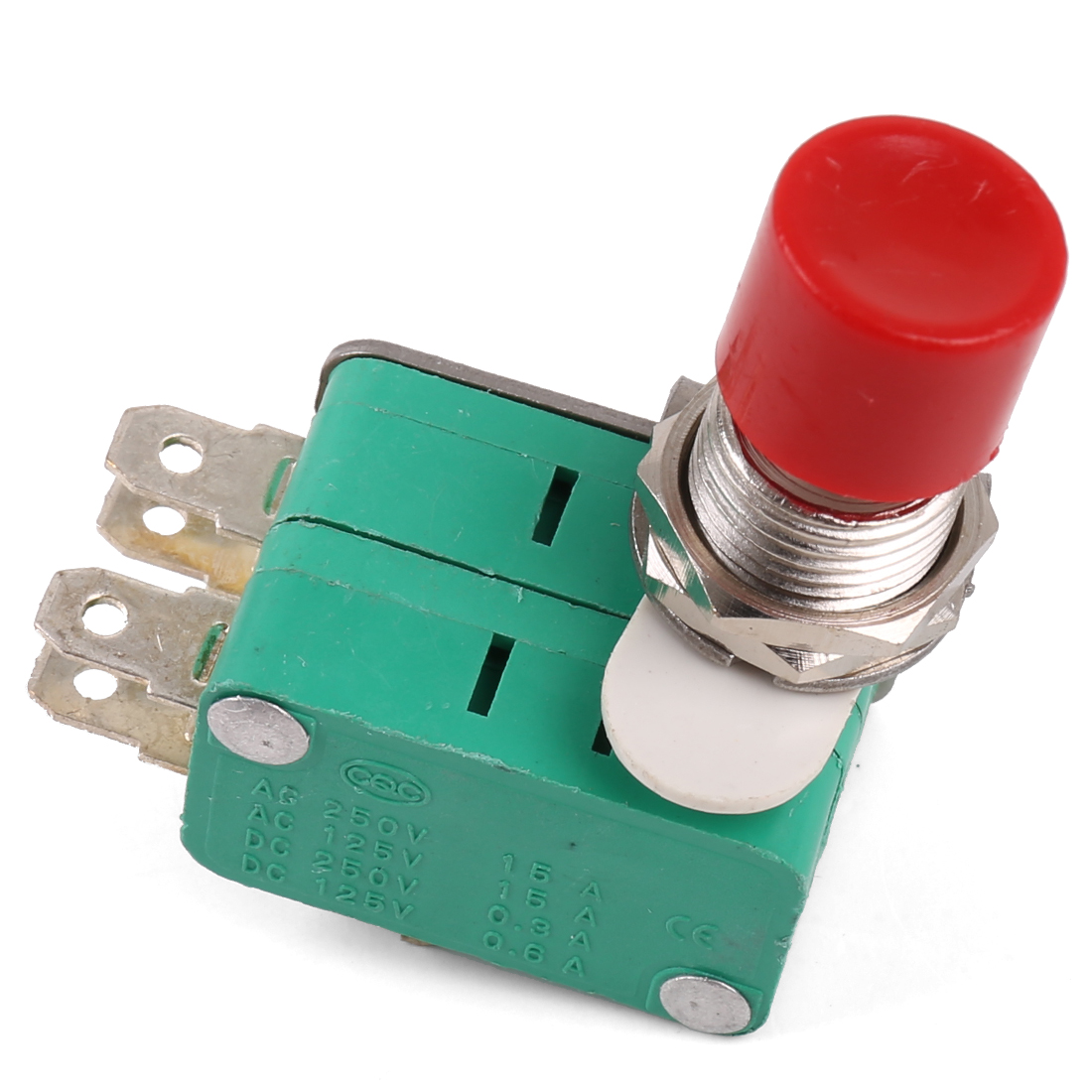 AC 250V 10A Momentary Emergency Stop Push Button Switch