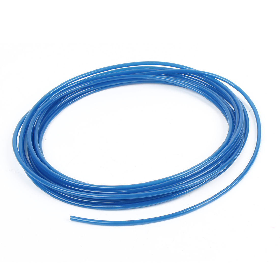 5 Meter 16.4Ft 4mm x 2.5mm Pneumatic Air PU Hose Pipe Tube Blue