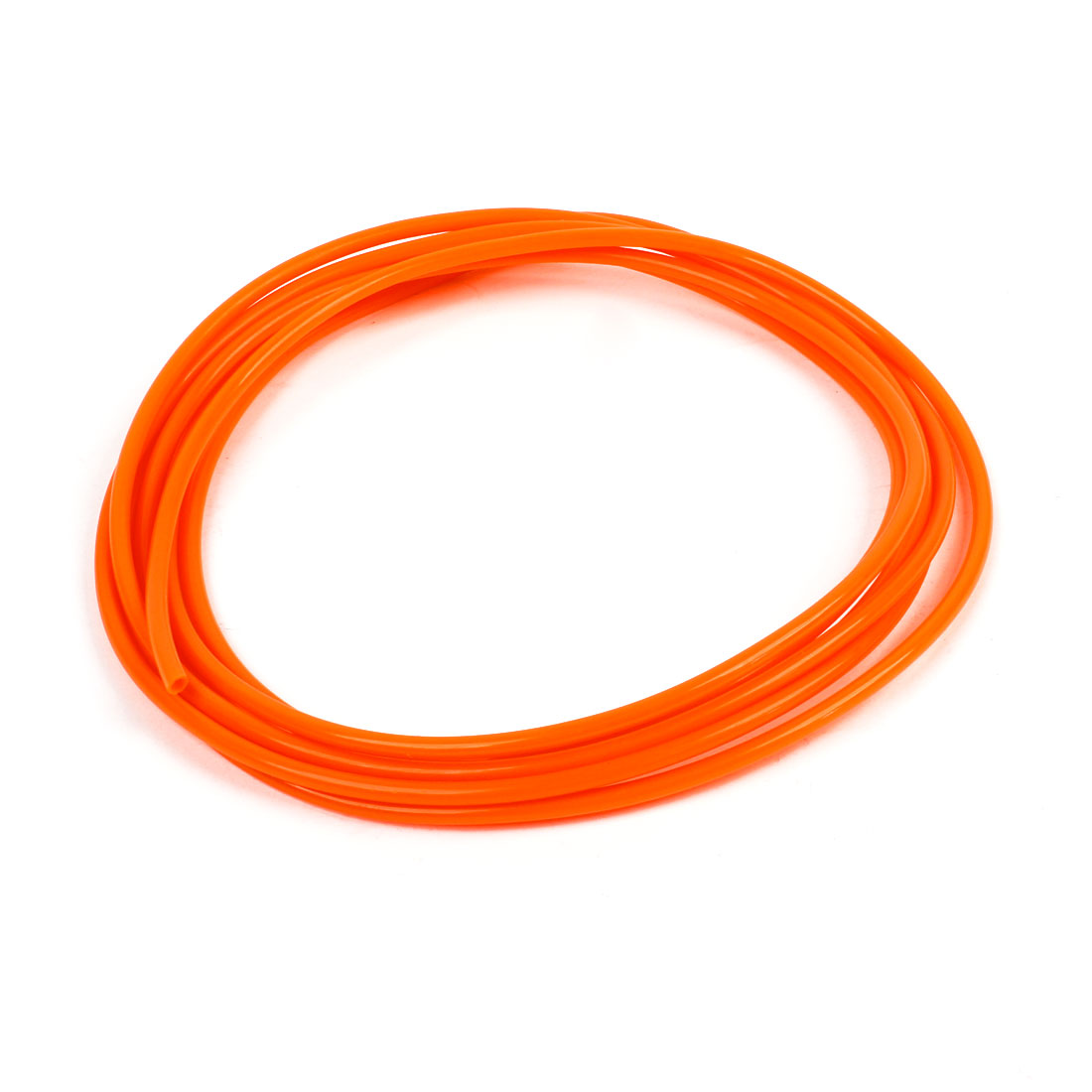 Orange 4mm OD 2.5mm ID 3 Meter Pneumatic PU Air Tube Hose