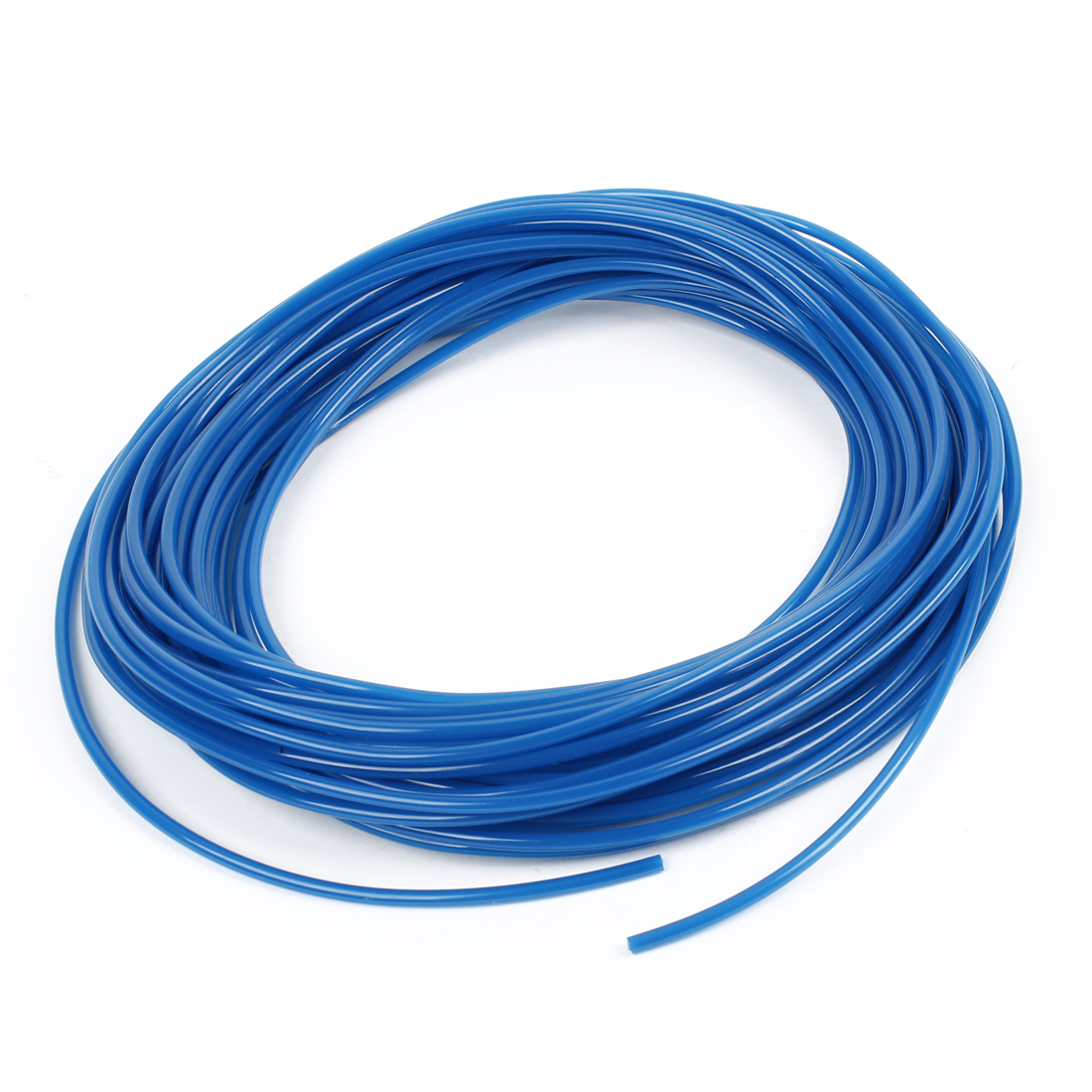 Blue 50 Meters 4mm OD 2.5mm ID 0.75mm Wall Thickness PU Air Hose Pipe