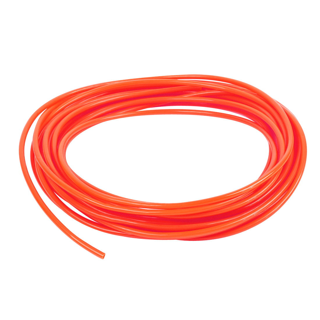 Orange 4mm OD 2.5mm ID 10 Meter Pneumatic PU Air Tube Hose