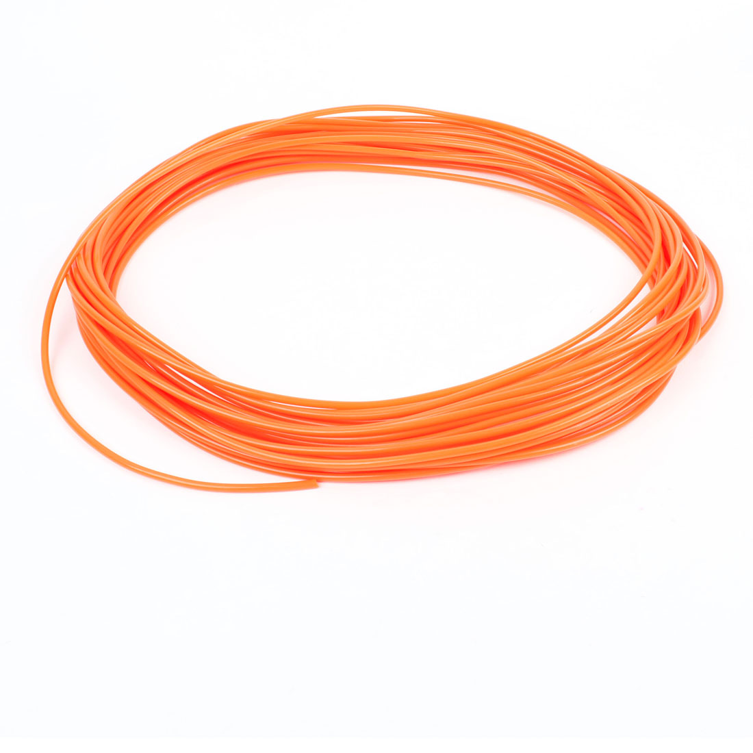20 Meter 65.6Ft 4mm x 2.5mm Pneumatic Air PU Hose Pipe Tube Orange