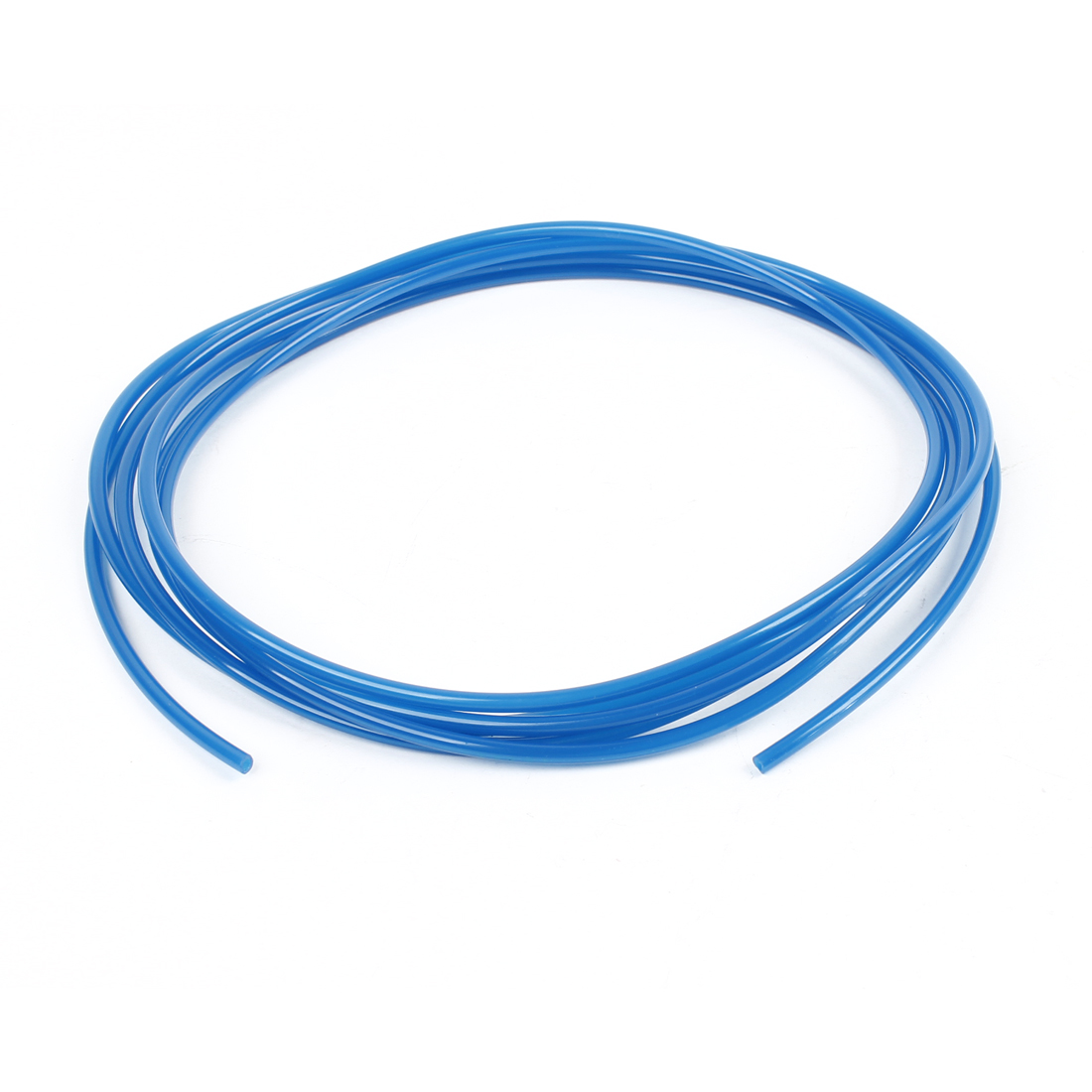 Blue 3 Meters 4mm OD 2.5mm ID 0.75mm Wall Thickness PU Air Hose Pipe