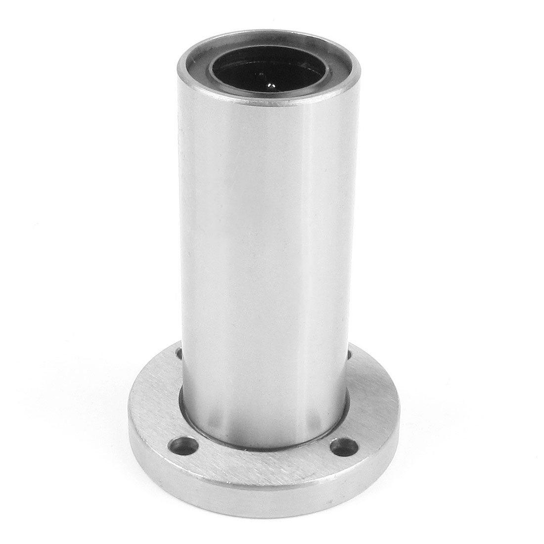 UF20L 20mm x 32mm x 80mm Round Base Linear Motion Ball Bearing Silver Tone