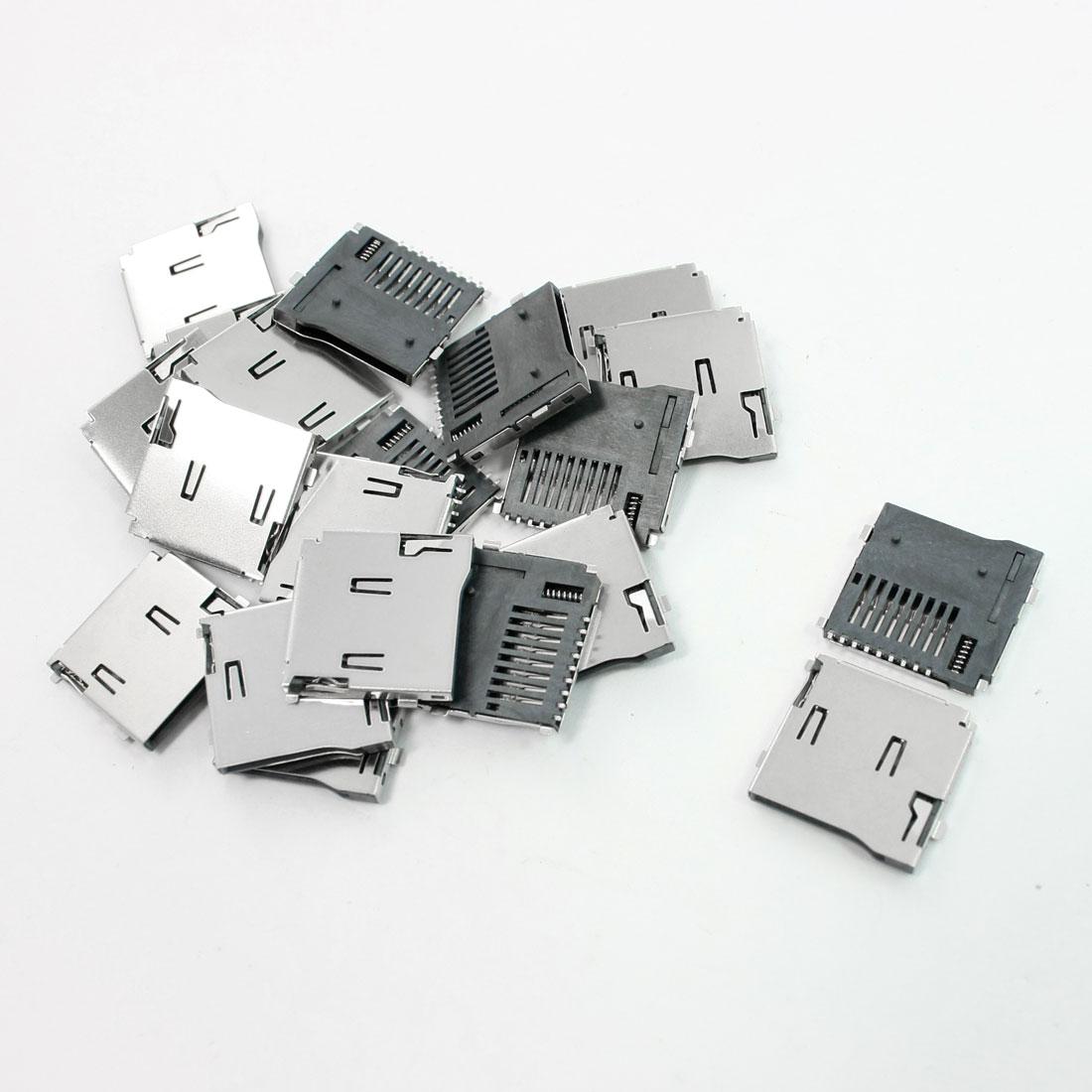 20 Pcs TF Transflash Micro SD Memory Card Quick Flip Sockets