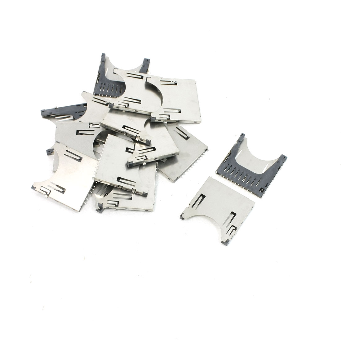 "15 Pcs SD Memory Card Sockets 1.14"" x 1.12"" x 0.1"" for Digital Camera"