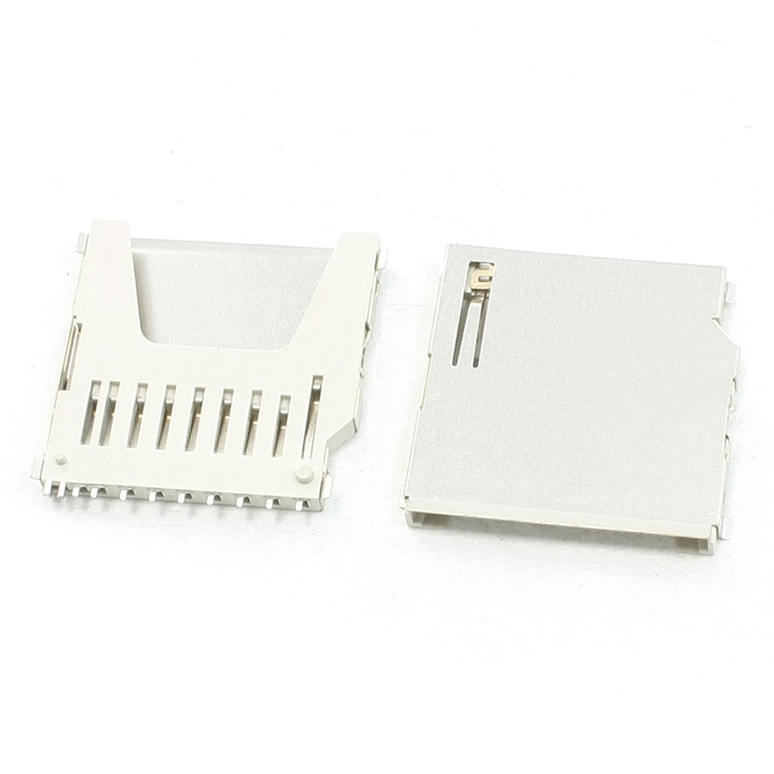 20 Pcs SMT Mounting Pull-Out Type SD Memory Card Sockets 26mm x 26mm