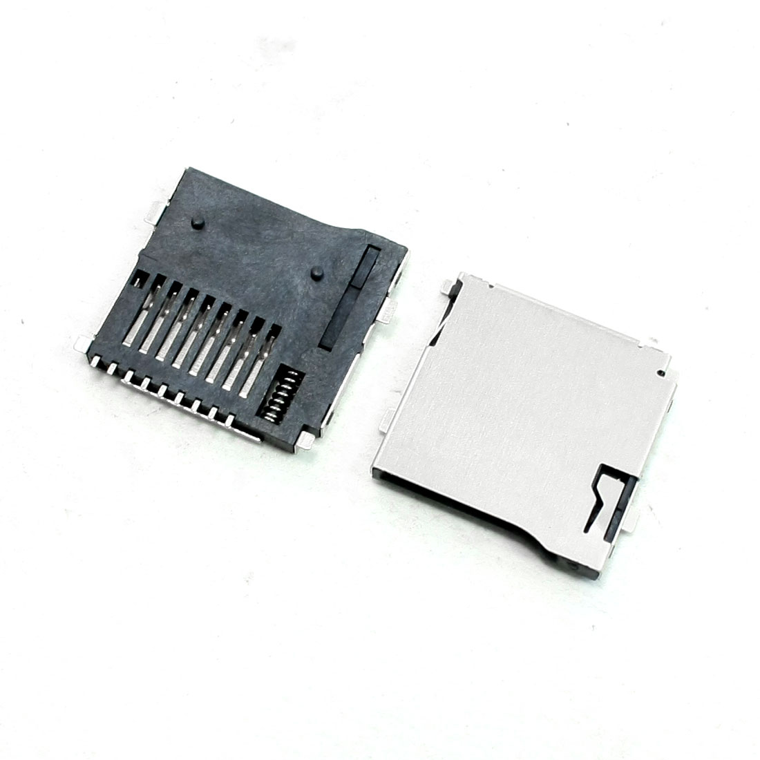 20Pcs Spring Loaded Push/Push Type TF Micro SD Card Sockets