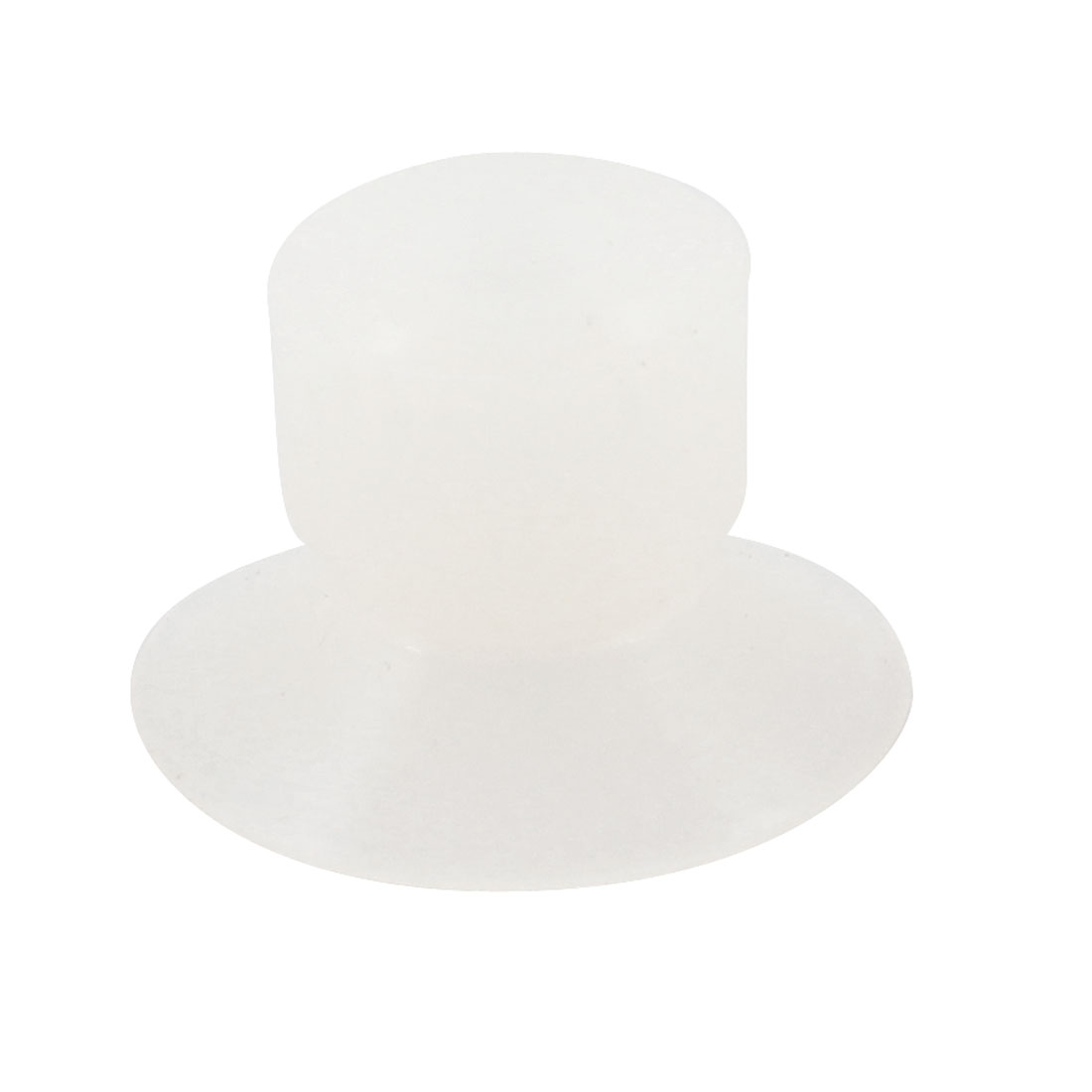 "5mm 0.2"" Inside Diameter Clear Soft Silicone Suction Cups"
