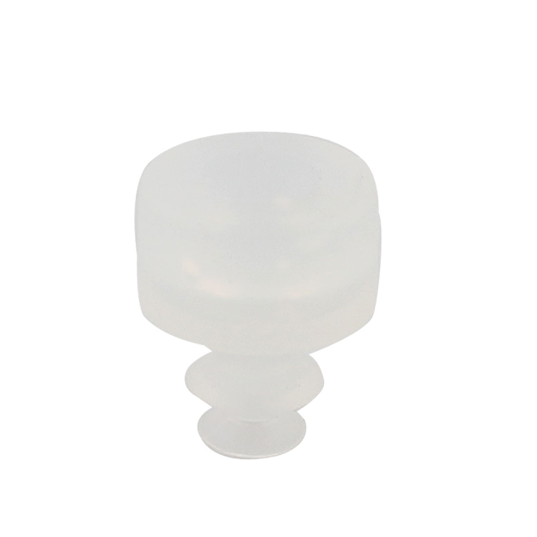 "0.24"" Outside Diameter Soft Silicone Vacuum Suction Cup Filter"