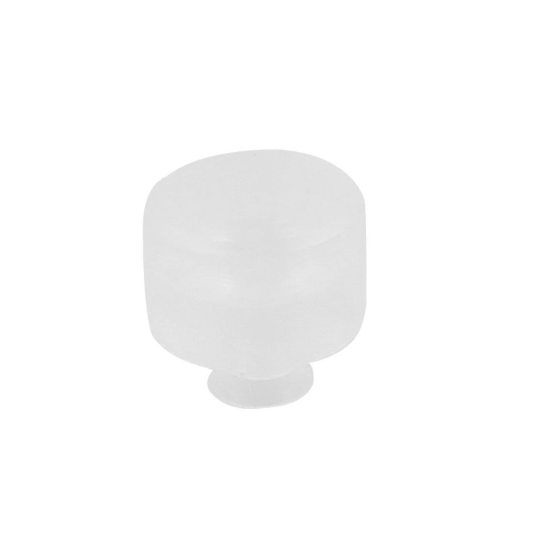 Clear White Soft Silicone Vacuum Equipment Spare Fittings Suction Cup