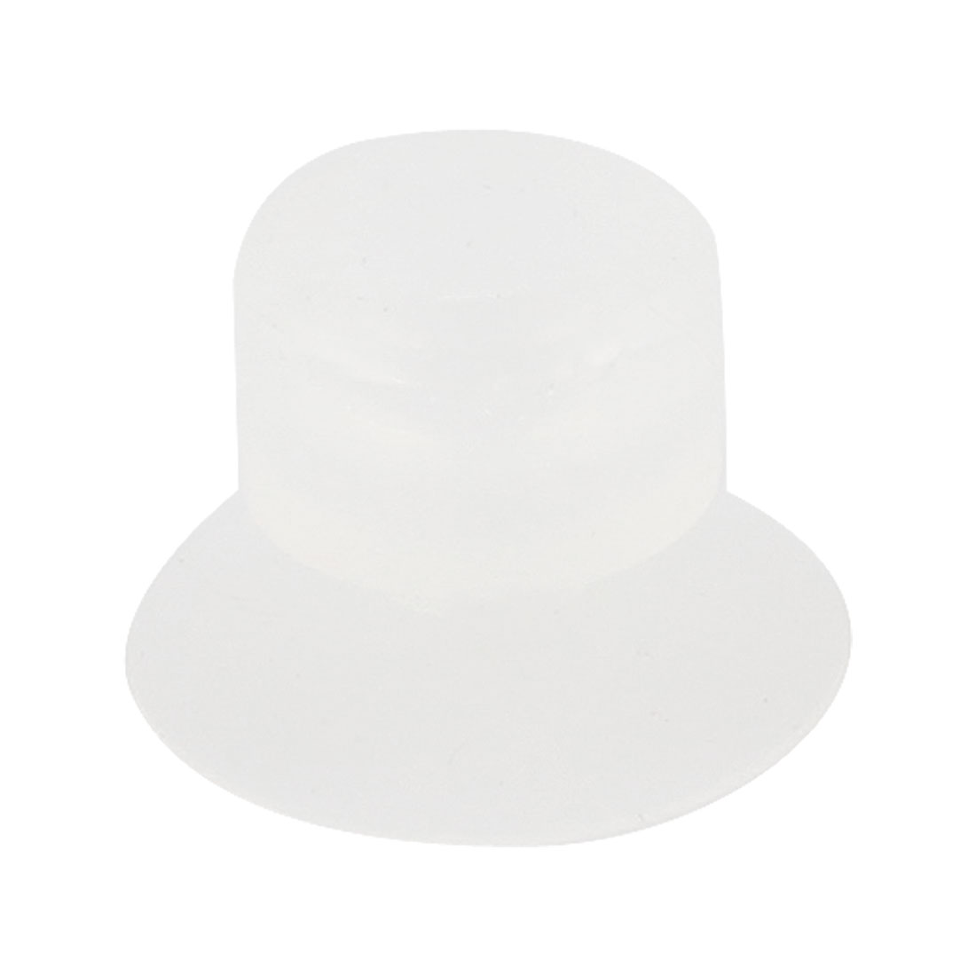 Vacuum Equipment Spare Part 15mm Dia Suction Cup Clear White
