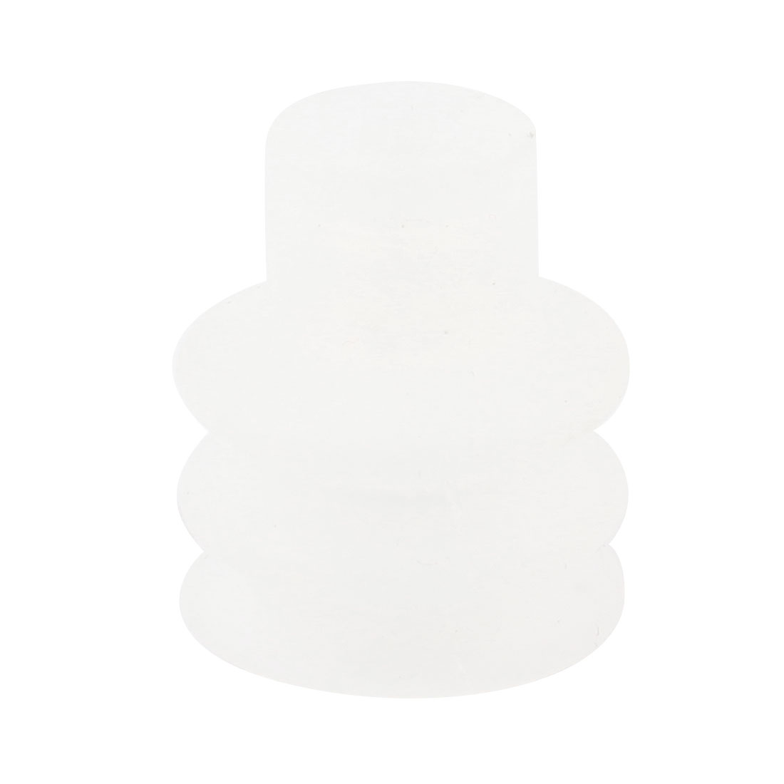 Replacement Clear White Soft Silicone Mini Vacuum Suction Cup Spare Part