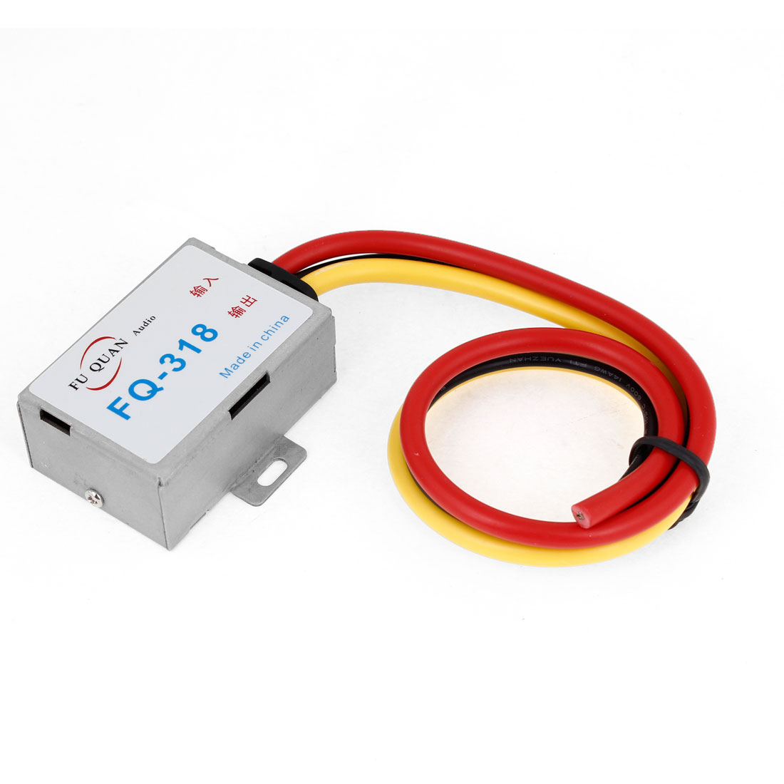 DC 12V Pre-wired Metal Audio Noise Power Filter for Auto Car