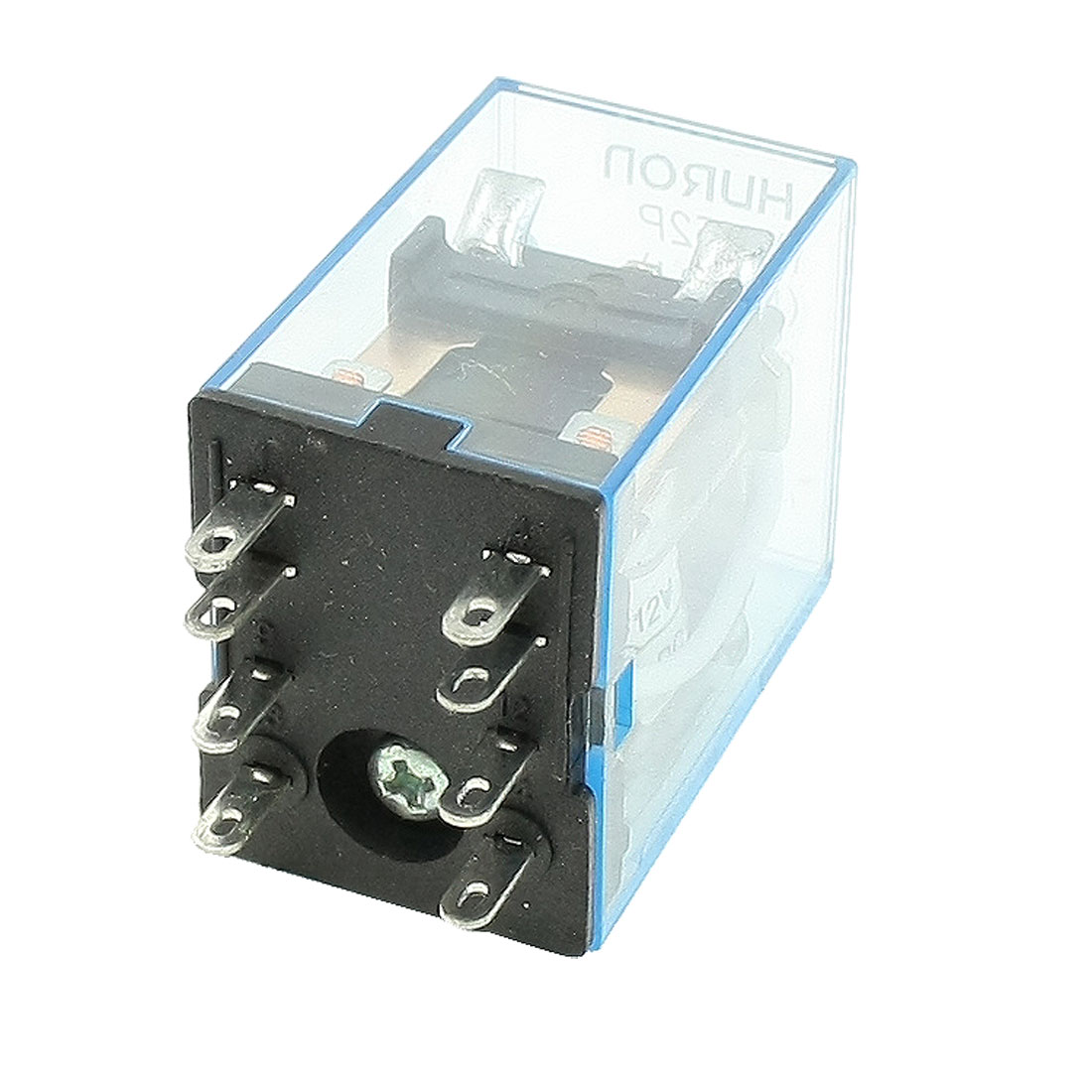 HH52P DC 12V Coil LED General Purpose Power Relay DPDT 8-Pin
