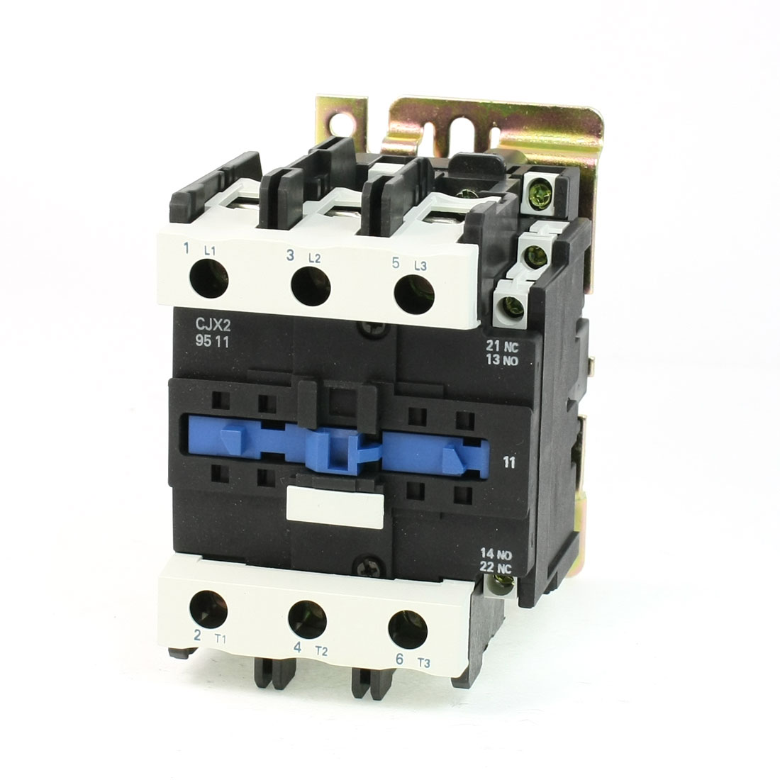 CJX2-9511 DIN Rail Mount AC Contactor 3 Pole One NO 380V Coil 125A