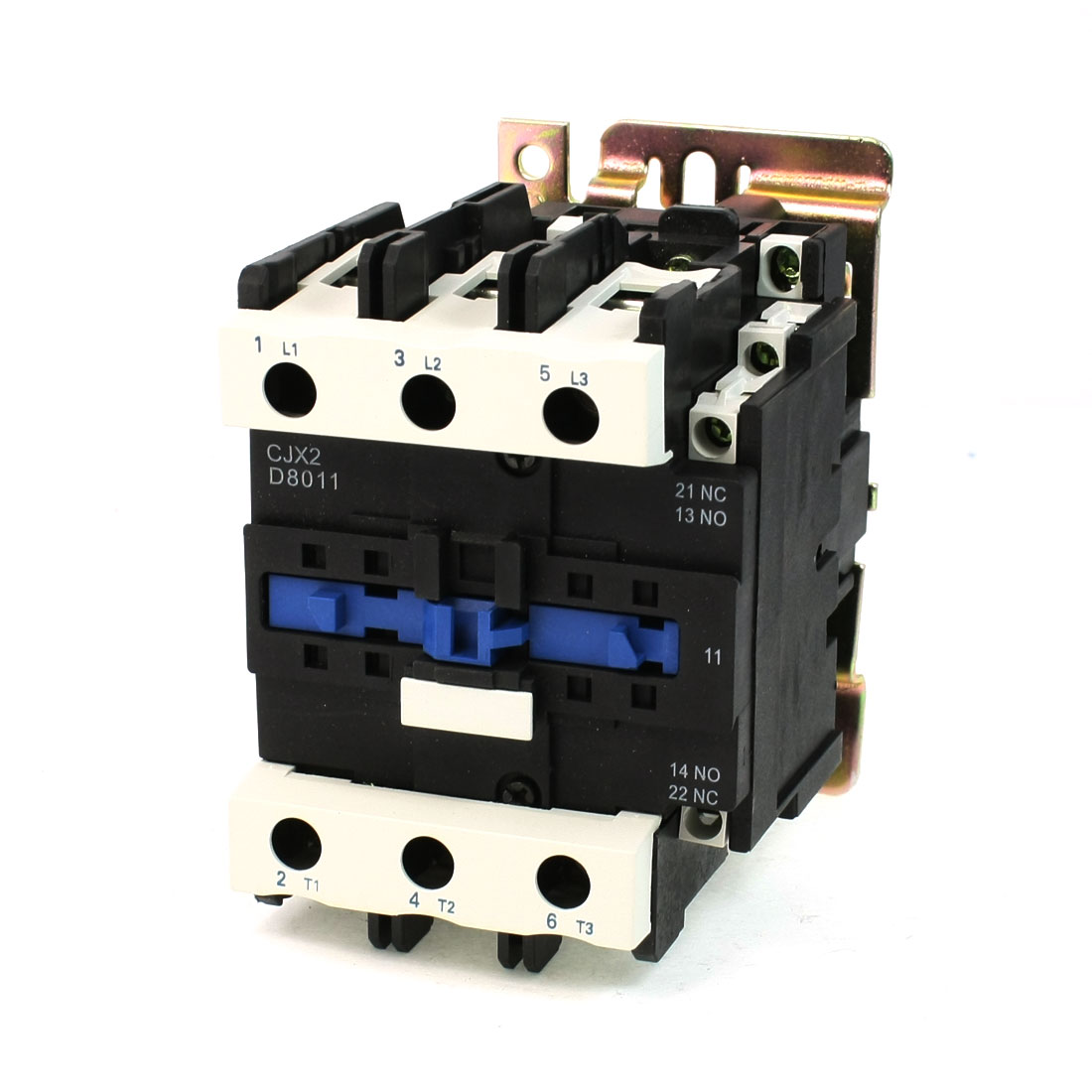 CJX2-9511 AC Contactor 125A 3 Phase 3-Pole NO 220V 50/60Hz Coil