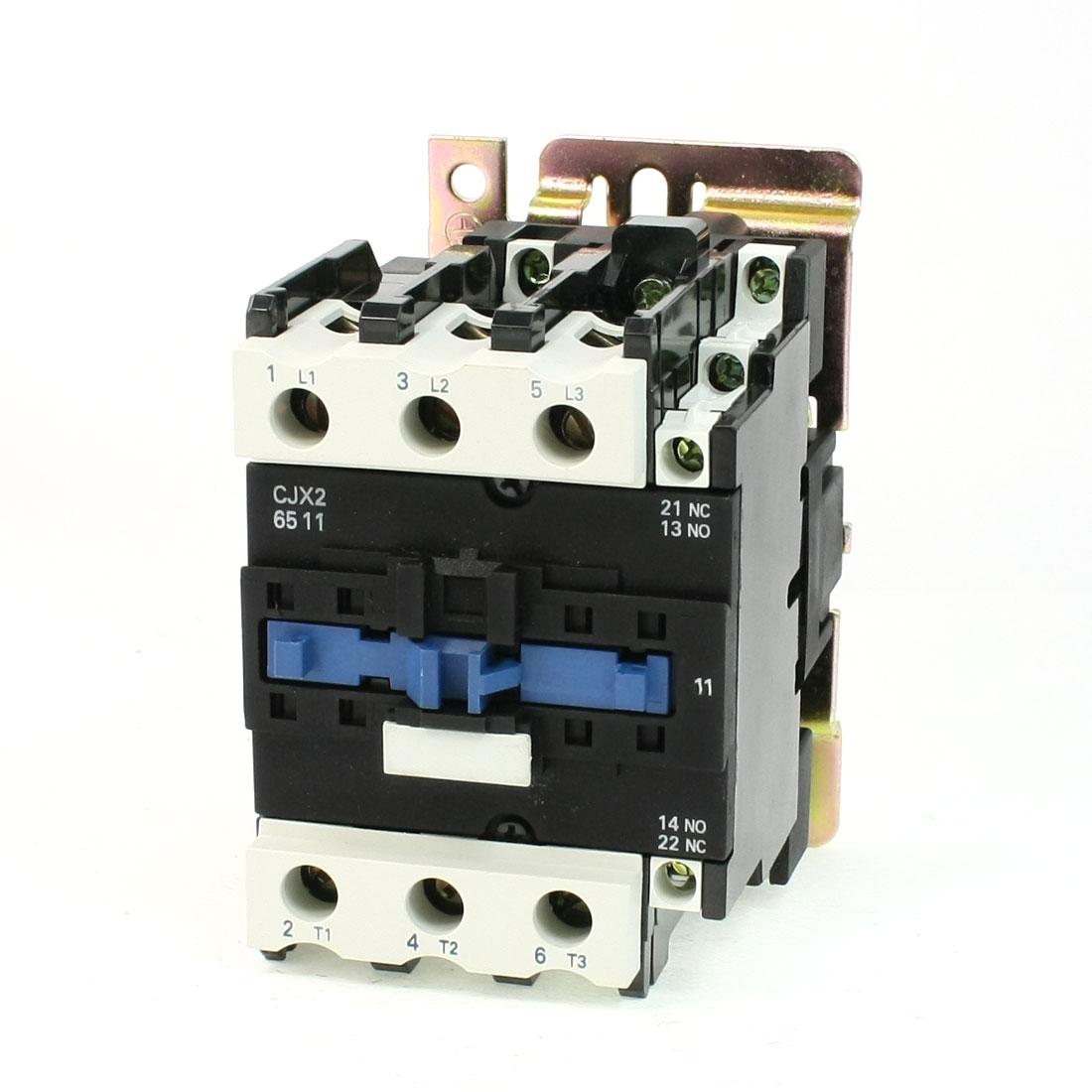 Motor Control AC Contactor AC-3 37KW 80A 3P 3 Pole 110V-120V Volts Coil