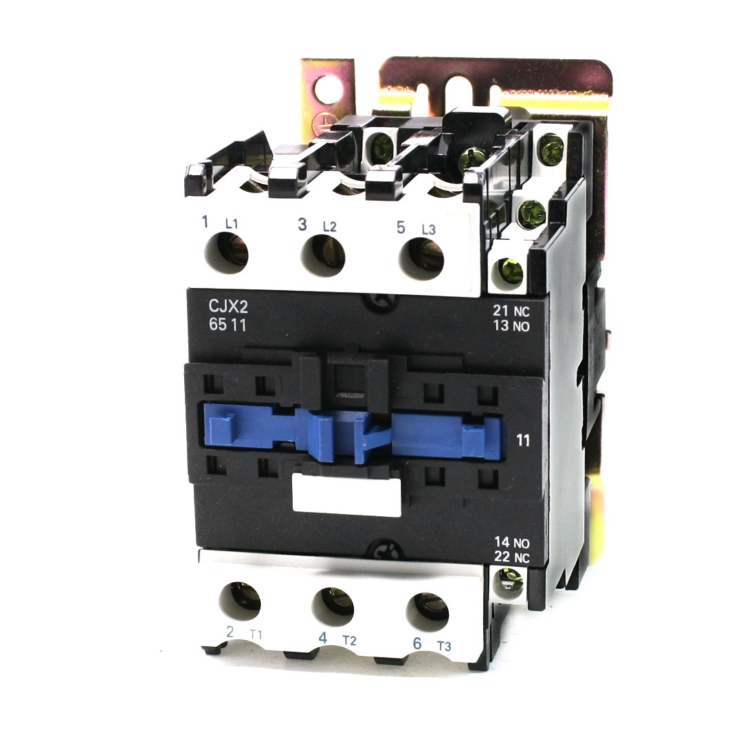 36V 50/60Hz Coil 3 Phase DIN Rail Mounting CJX2-6511 Type 1NO+1NC AC Contactor
