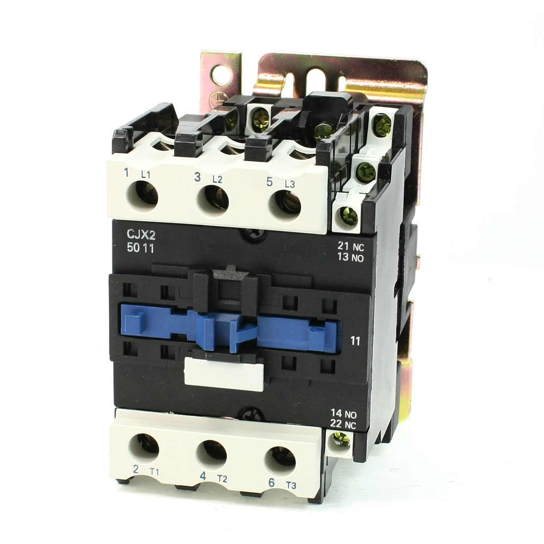 CJX2-5011 DIN Rail Mount AC Contactor 3 Pole One NO 36V Coil 80A